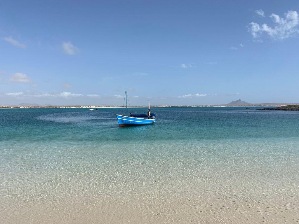Mooiste strand kaapverdie zee