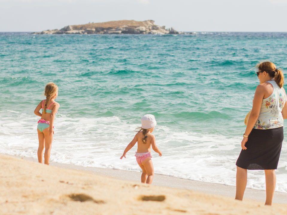kinderen kaapverdie zee