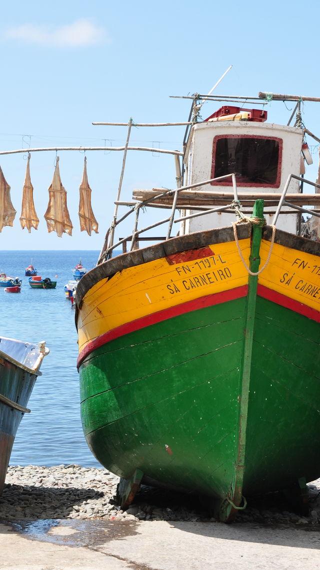 camara de lobos vissersboot