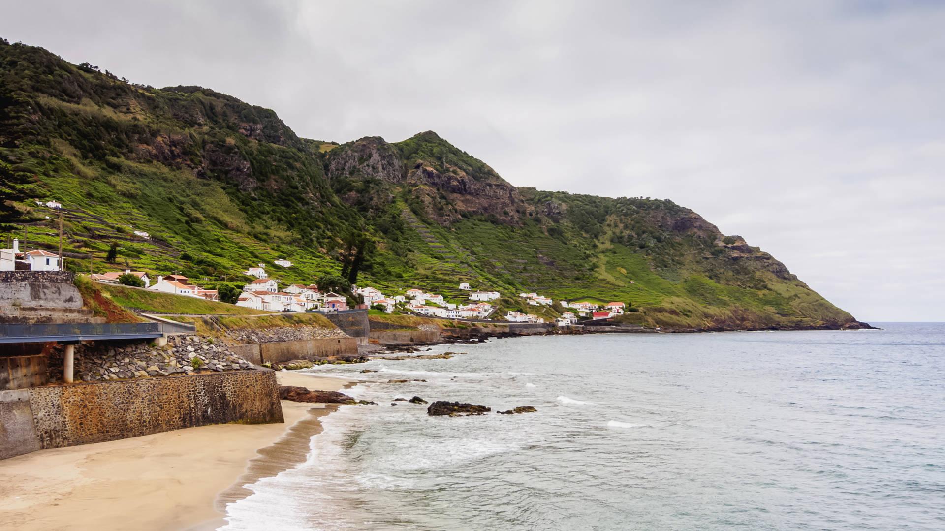Stranden van de Azoren