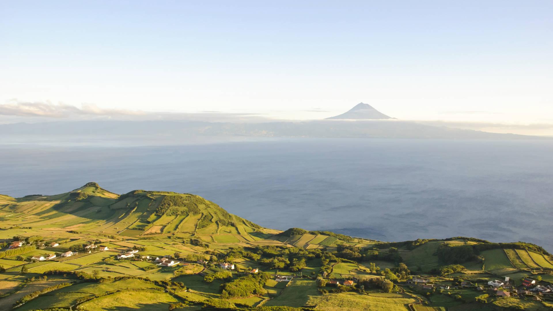 Uitzicht op Pico