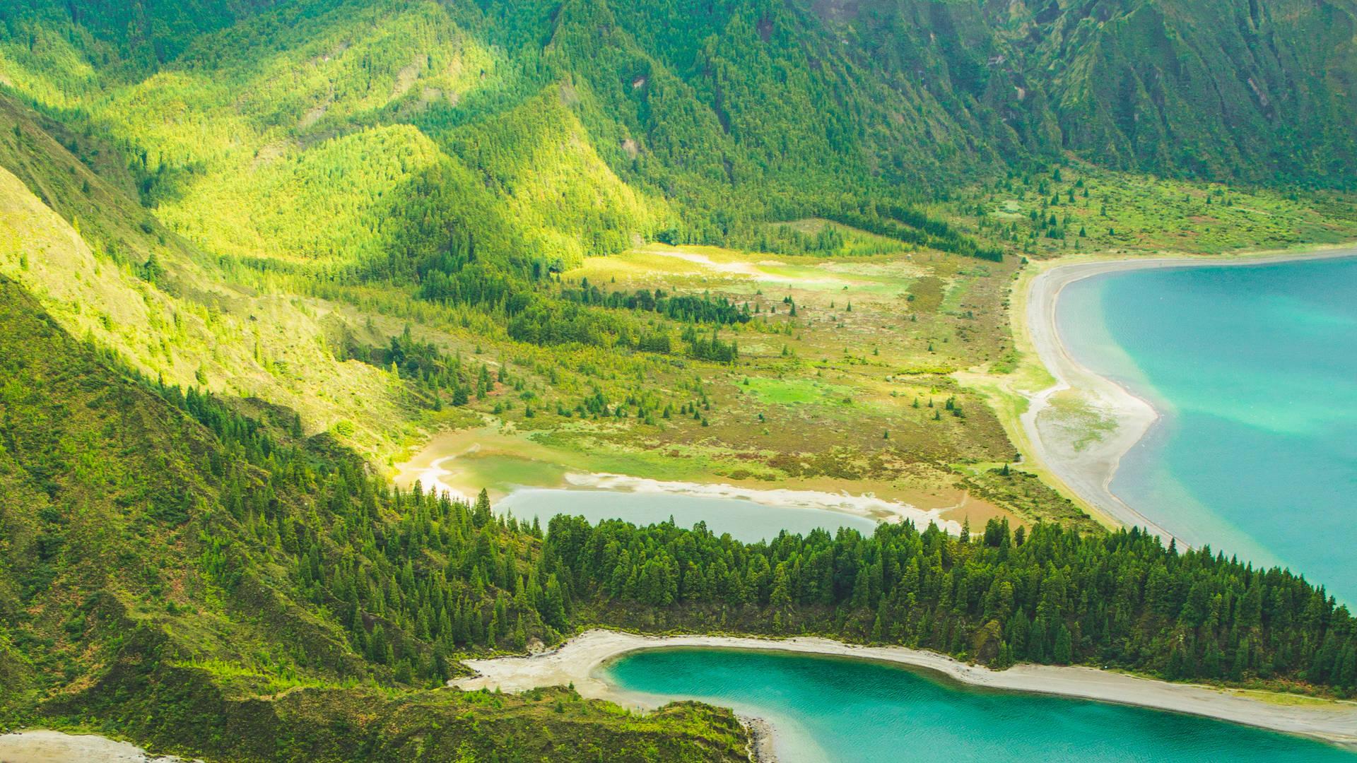 Het groen Lagoa do Fogo - Azoren vakantie tips