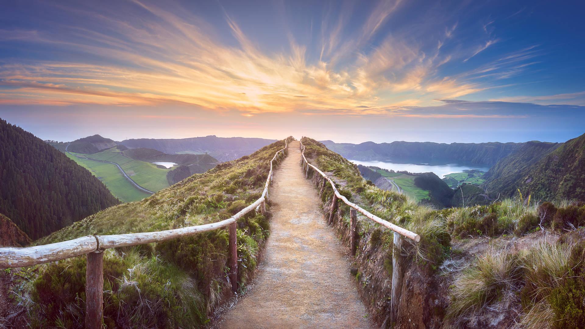 Legendes op de Azoren: Sete Cidades en de tranen van princes Antilia