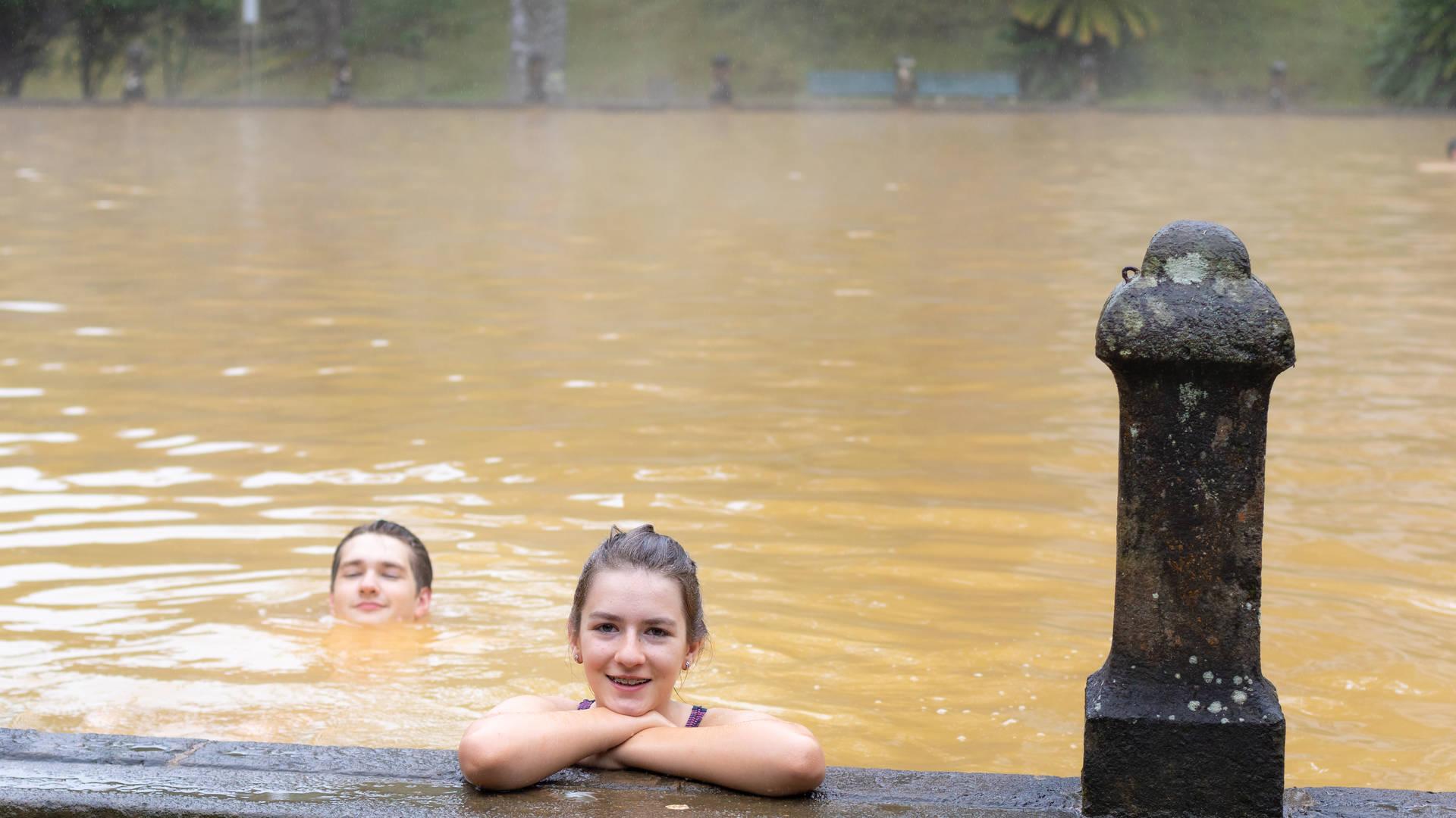 Warmwaterbron - Azoren vakantie ervaringen