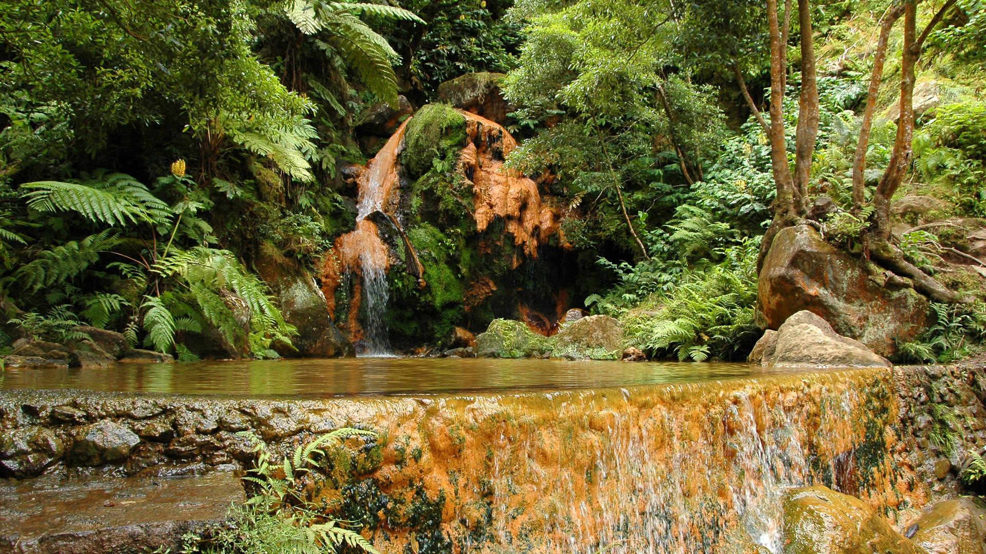 Ribeira Grande - natuur zwembad
