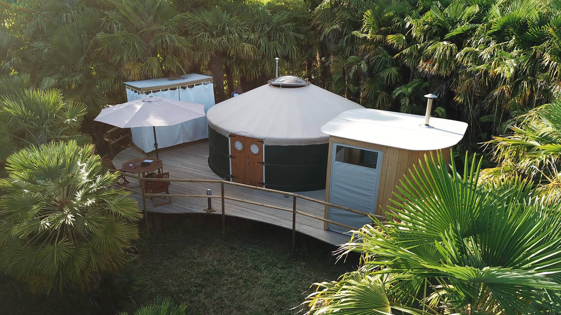 Sao Miguel - Azul singular yurt