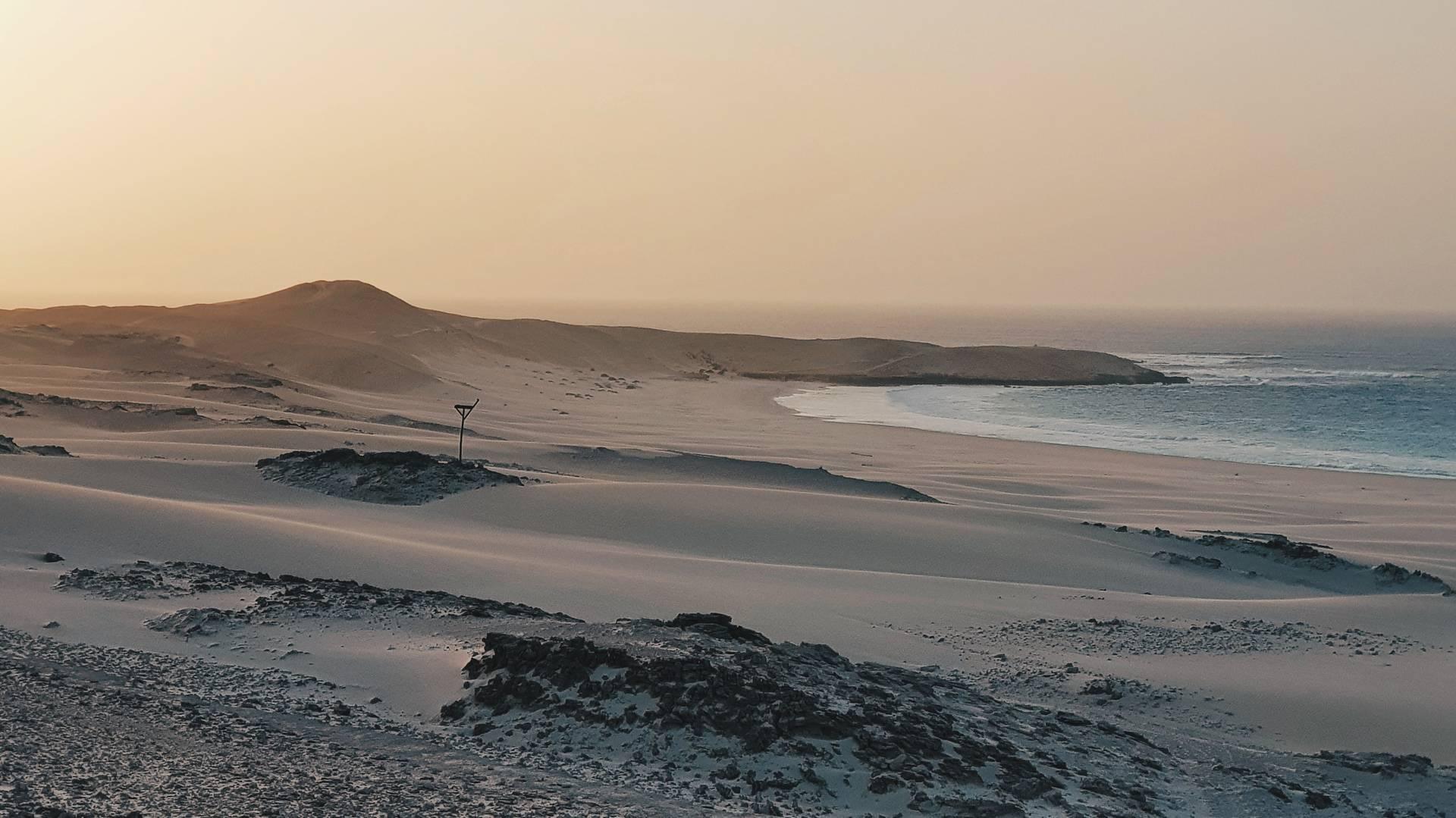 Kaapverdie Boa Vista strand kaapverdie introductie