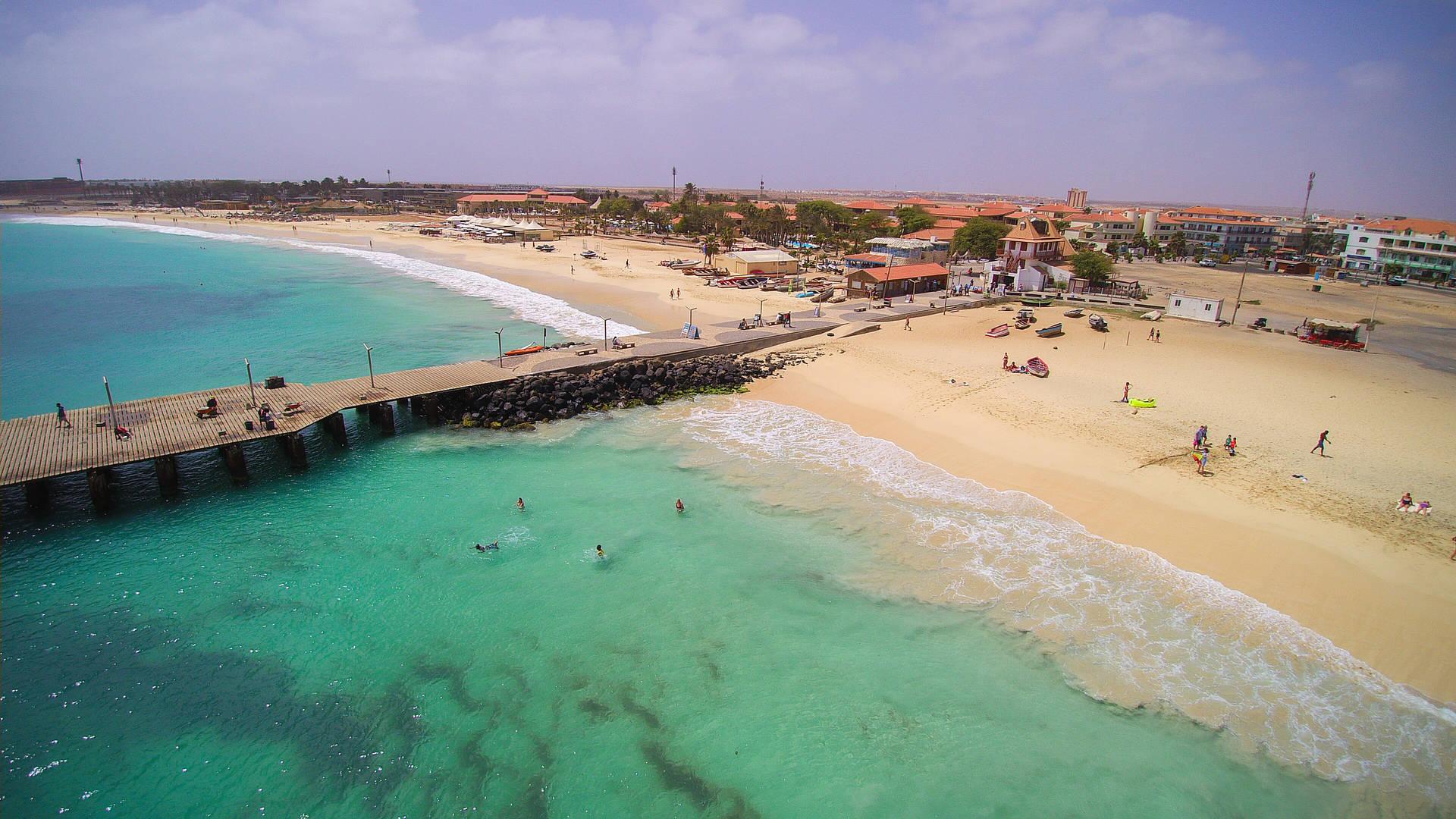 stranden Kaapverdië Sal