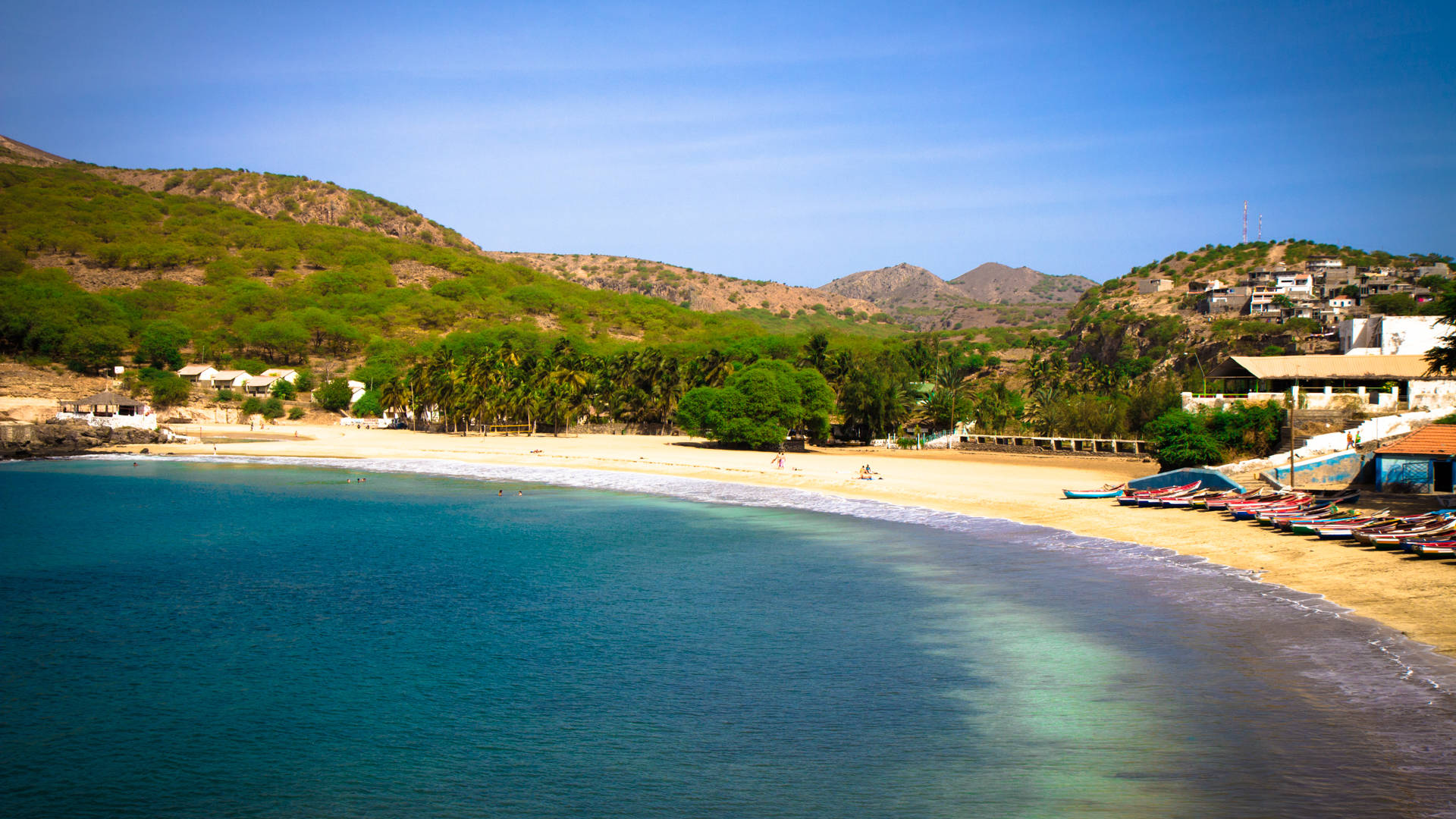 Stranden Kaapverdië Tarrafal