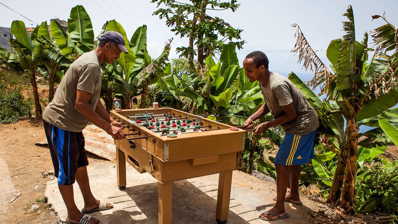 Tafelvoetbal Kaapverdie