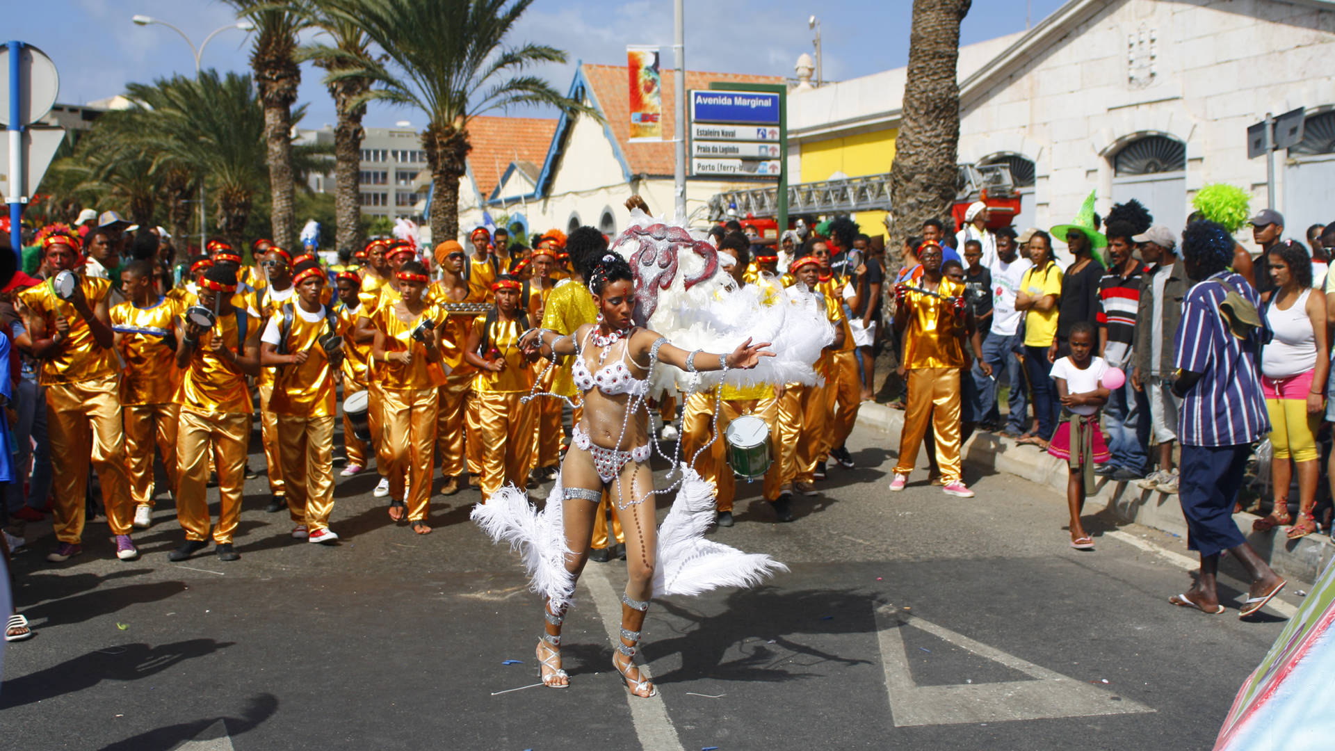 Carnaval Kaapverdië optocht