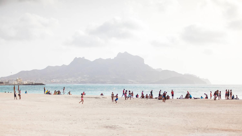 Stranden Kaapverdië Sao Vicente