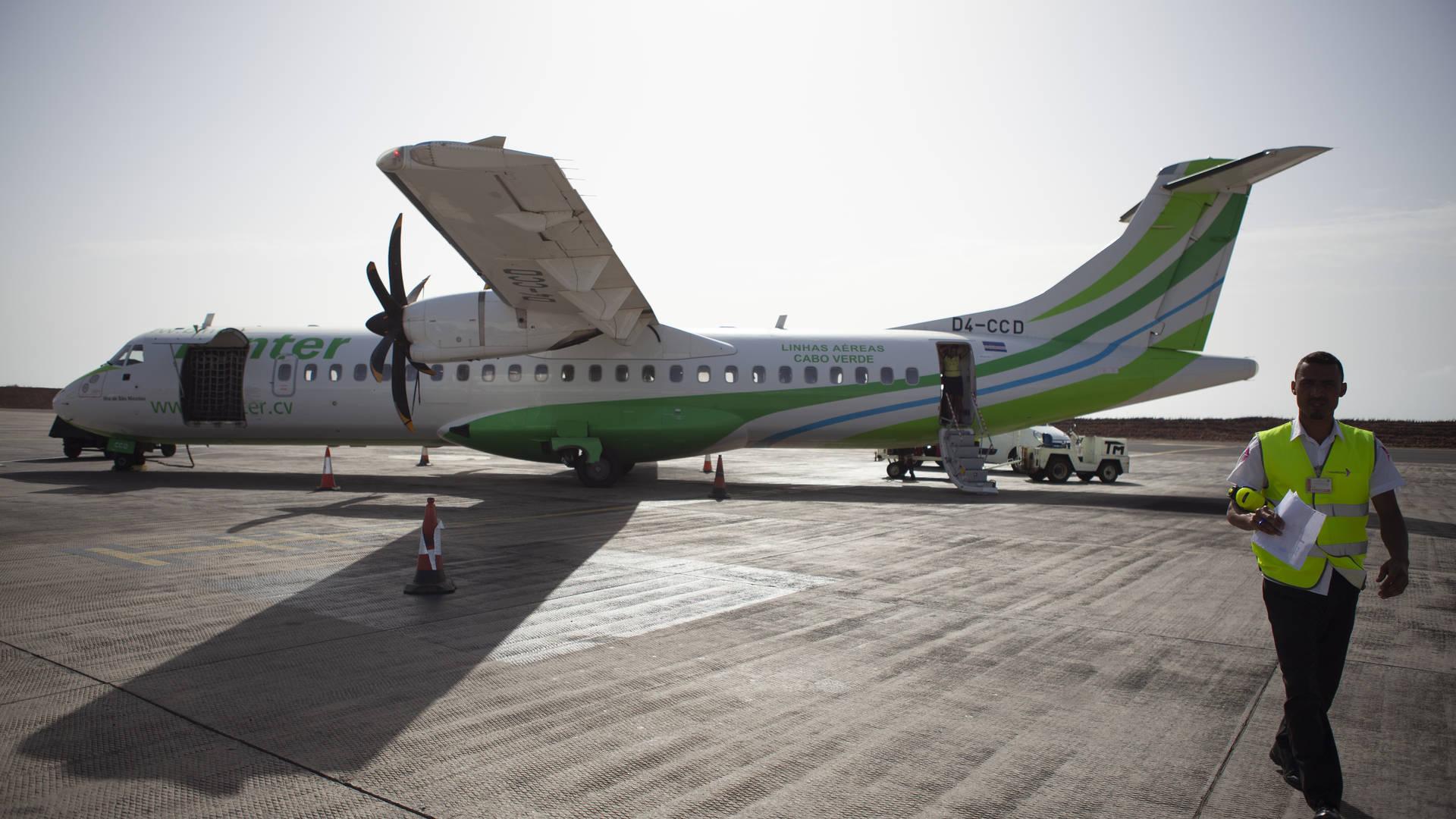 Binnenlandse vlucht met Binter - Vervoer in Kaapverdië
