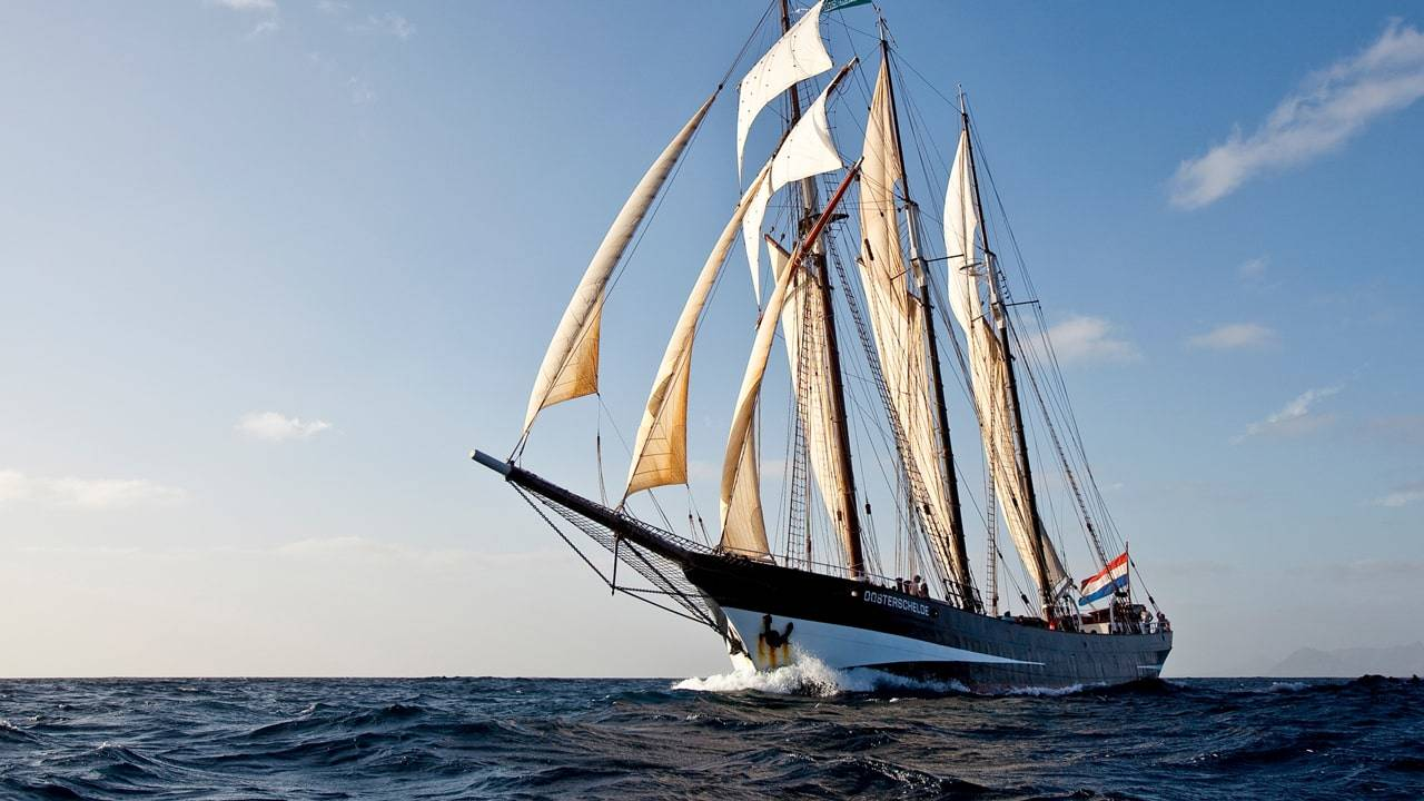Scheepvaart - Rotterdam en Kaapverdië