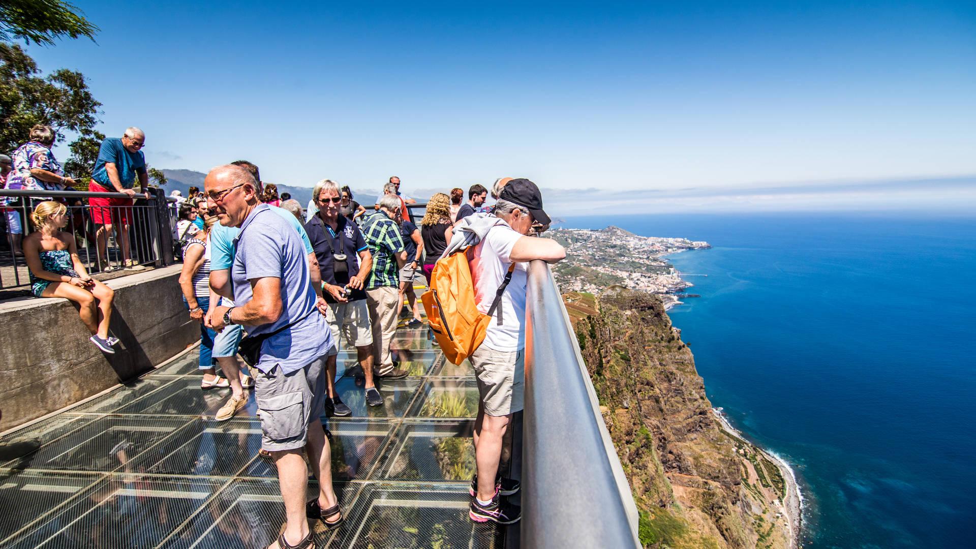 Het panorama terras van Cabo Girao