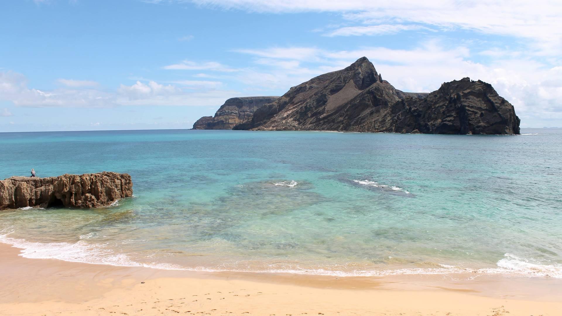 Madeira vakantie strand Porto Santo