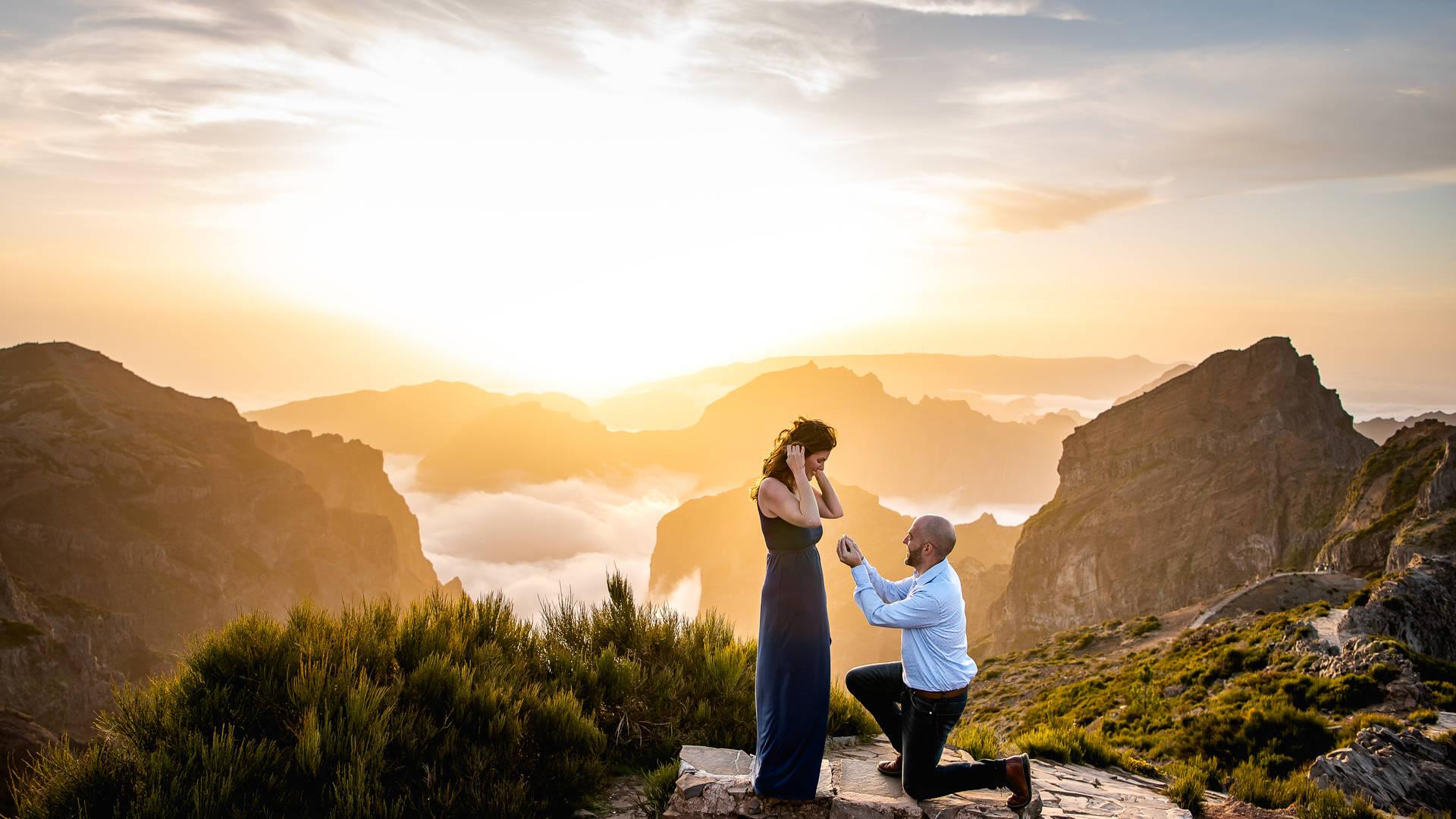 Huwelijksreis Madeira