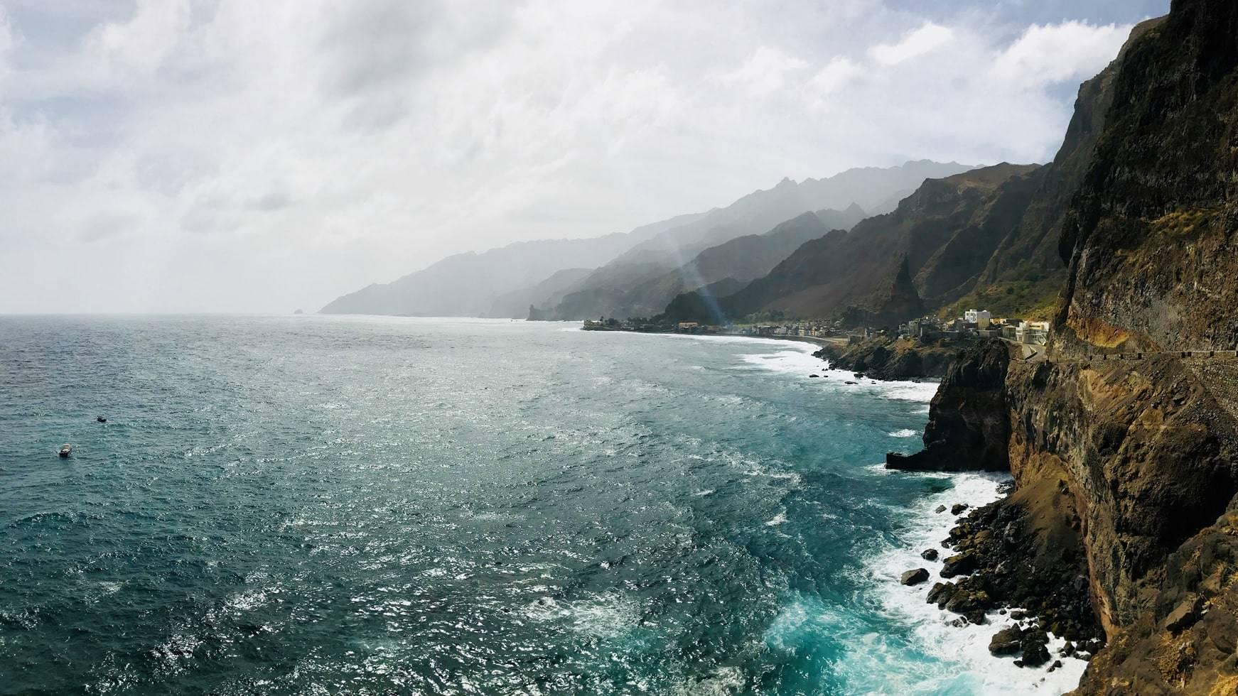 Kaapverdie Santo Antao uitzicht bergen gladys